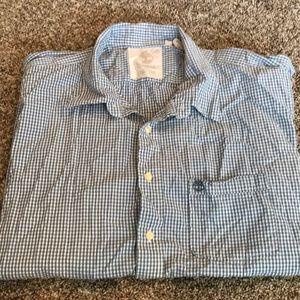 Men's Timberland Button Shirt